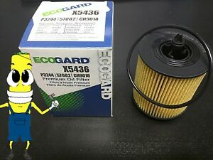 Premium Oil Filter for Chevrolet Orlando with 2.4L Engine 2013 Single