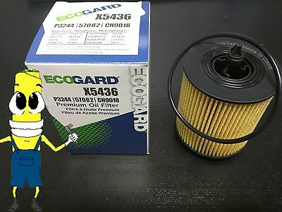 Premium Oil Filter for Pontiac Grand Am with 2.2L Engine 2002-2005 Pack of 5