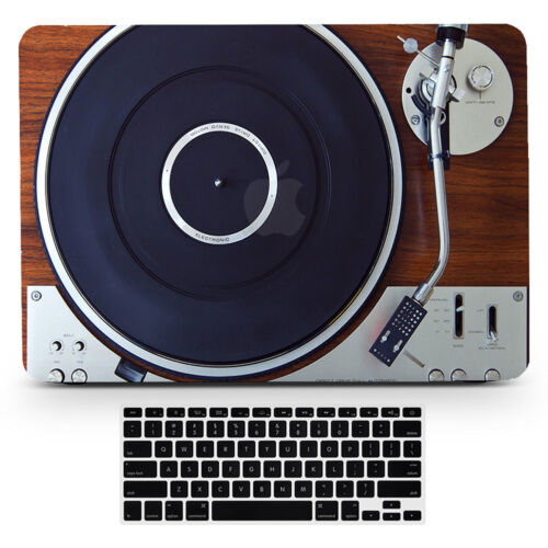Retro Music Player Design Hard Rubberized Case Cover for Macbook Air Pro 11-15