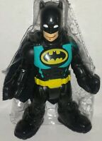 Dc Super Friends Batman 3 Figure Imaginext Fisher-price Batcave Hero Squad