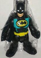 Dc Super Friends Batman 3 Figure Imaginext Fisher-price Batcave Hero Squad