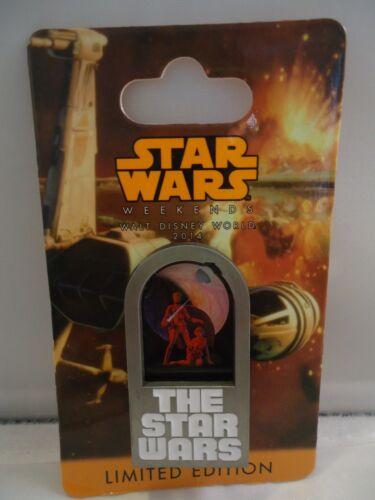 Disney Star Wars Weekend 2014 excl Luke Skywalker and Leia concept pin