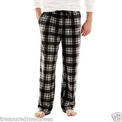 "44-47"" ~ Nwt To Enjoy High Reputation In The International Market Motivated Stafford Microfleece Pajama Lounge Pants ~ Size 2xl"