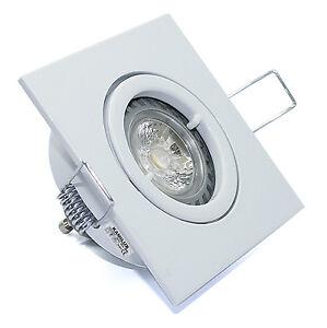 Gut bekannt Dachüberstand Einbaustrahler Quajo ROSTFREI & GU10 LED-Strahler 5W YQ69