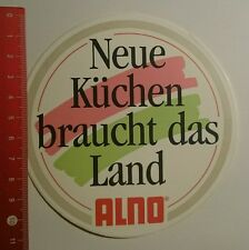 Aufkleber/Sticker: ALNO neue Küchen braucht das Land (28081691)