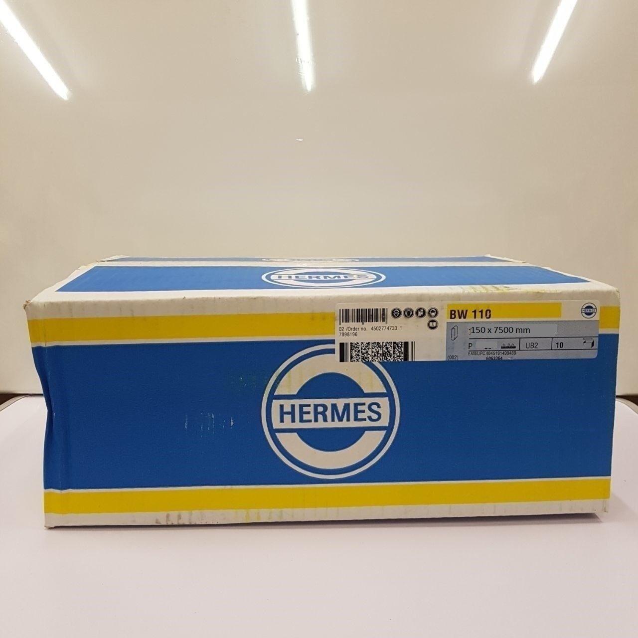 Hermes Schleifbänder BW 110 - 150 x 7500 mm Körnung wählbar VE- 10 Bänder
