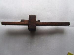 Details About Antique Vintage Wood Woodworking Scribe Mortise Gauge Tool Measure Uk Ireland