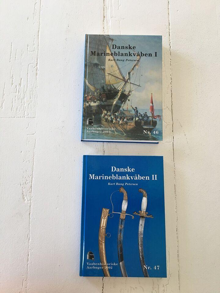 Våben og militær, 2 Bøger: Våbenhistorisk Årbog 2001+2,