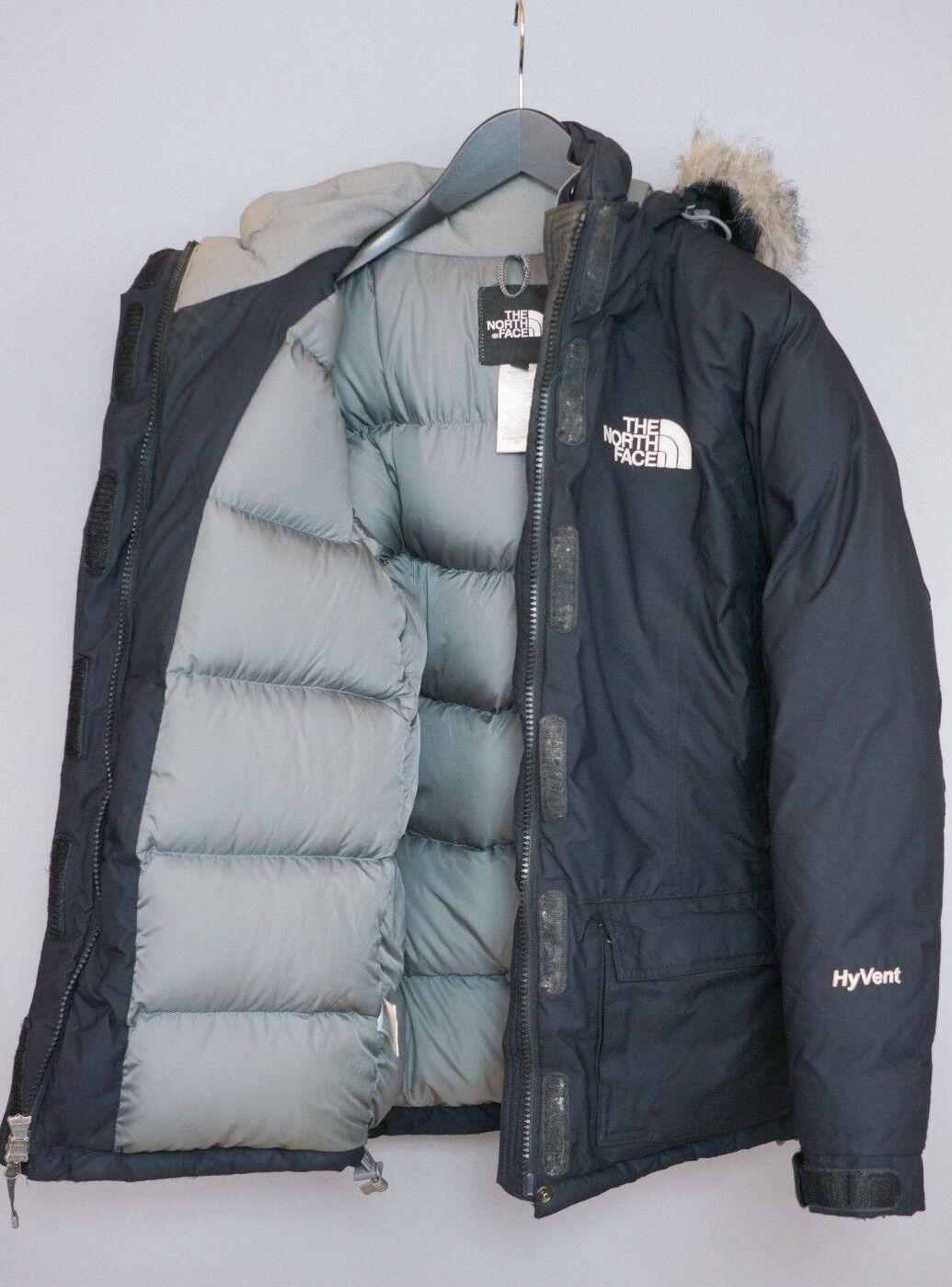 Damen The North Face Jacke Hyvent mit Daunen Gefüllt Warm Winter S UK10 ZFA286