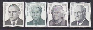 Germany DDR 2594-97 MNH 1987 German Workers Leaders Movement Full Set of 4