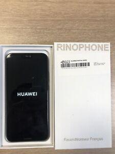 Huawei P20 lite - 64 Go - Midnight Black (Désimlocké) (Double SIM) Noir grade AB
