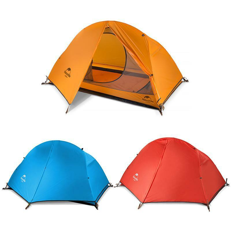 Portable Single Person Camping Tent Double Layer Waterproof Outdoor Hiking Tent
