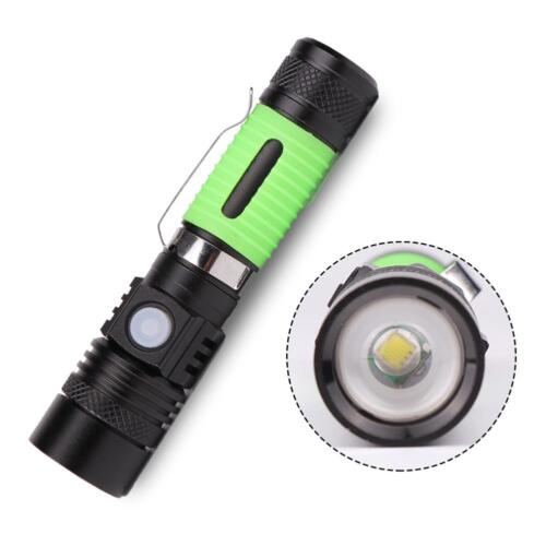 Mini Aluminum Alloy 20000LM Camping Torch Handy 18650 LED Telescopic AO