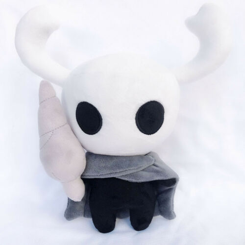 """USA 12/"""" Game Hollow Knight Doll Model Ghost Plush Stuffed Animals Toy Xmas Gift"""