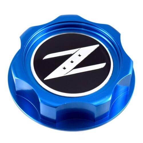 New Blue Z Billet Oil Cap For Nissan Infiniti Nismo JDM GTR 350z 370z 240SX