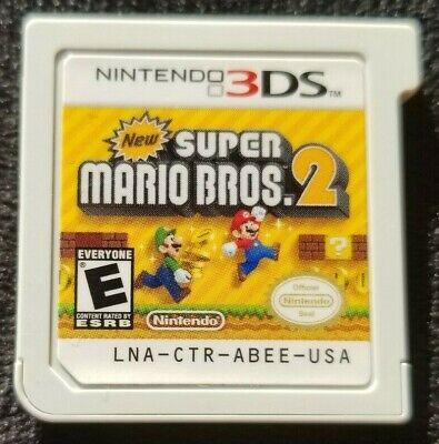 New Super Mario Bros 2 For Nintendo 3ds 2ds Game Cartridge
