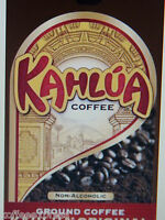 Kahlua Original Gourmet Ground Coffee 2 Bags 12oz Each