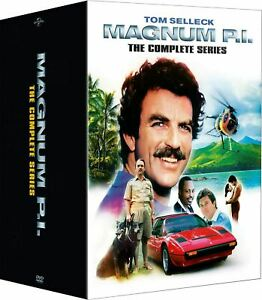 Magnum-P-I-The-Complete-Series-DVD-Box-Set-Seasons-1-8-Tom-Selleck-NEW