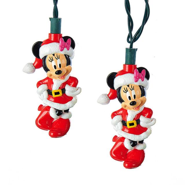 disney minnie mouse christmas lights holiday lighting christmas decorations