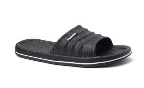 Men/'s Sports Slide Beach Sandals Soft Heavy Duty Beach Shower Pool Gym--06M