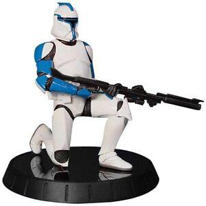 Figurine de soldat représentant un soldat du clone bleu Star Wars Statue exclusive 1: 6