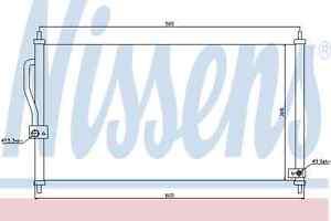 Nissens-Condenser-94458-Fit-with-Honda-CR-V-I