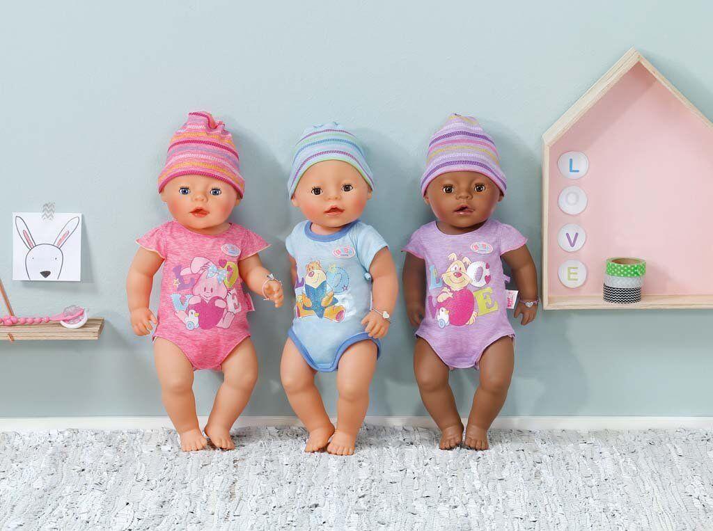 Zapf >>> Baby born Puppe interactive <<< Ethnik farbig - Junge - Mädchen