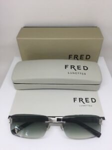 New-Fred-LUNETTES-Sunglasses-Luxury-Rimless-Hawai-F1-Sunglasses-C-108-Python