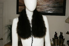 STUNNING VINTAGE BEAVER STOLE 1940 50'S GENUINE RECYCLED FUR THE ONLY WAY