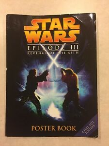 Star Wars Episode Iii Revenge Of The Sith Poster Book Ebay