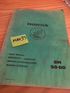 honda sh50 sh80 sh 50 80 revisione tecnica manuale d officina rh ebay it Trabajos Manuales Gratis Trabajos Manuales Gratis