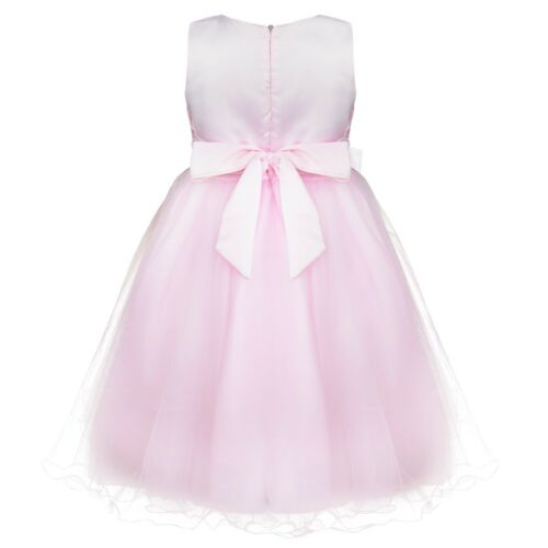 Kids Princess Party Flower Girl Sequin Dress Pageant Wedding Tutu Prom Ball Gown