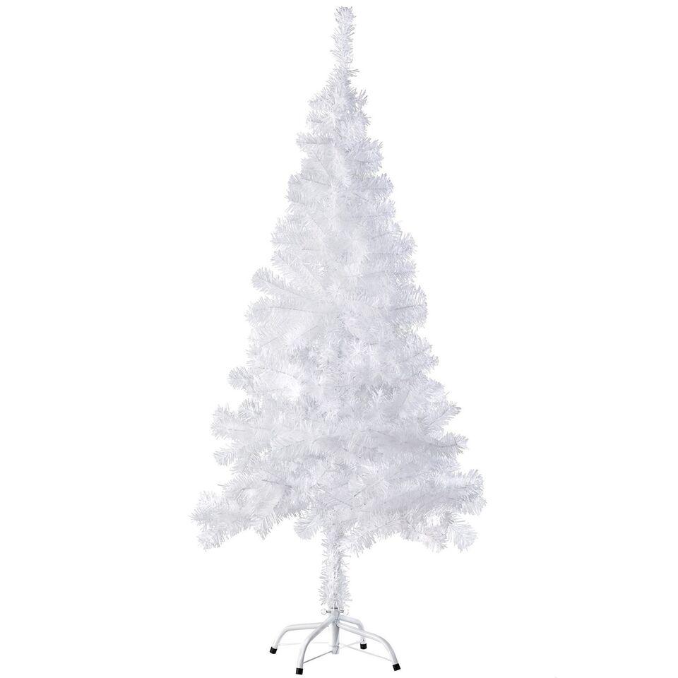 Kunstigt juletræ 150 cm 310 spidser Hvidt
