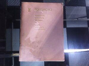 Rolls-royce silver shadow workshop manual pdf download.