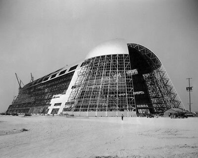 VEHICLE ASSEMBLY BUILDING UNDER CONSTRUCTION IN 1964-8X10 NASA PHOTO EP-440