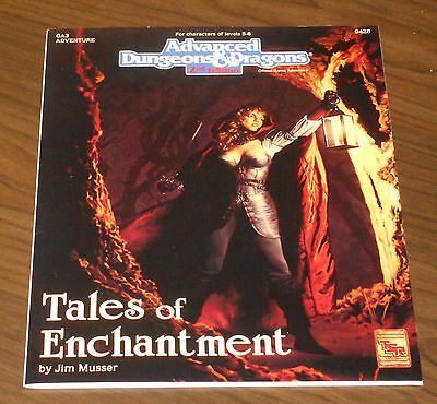 Ad&d Ga3 Tales Of Enchantment 1993 Tsr Modulo Come Nuovo Dungeons & Dragons