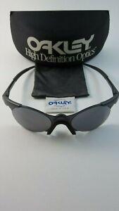 Oakley-Zero-0-4-Sleet-Black-Iridium-Gen-1-Hard-Case-05-104-RARE