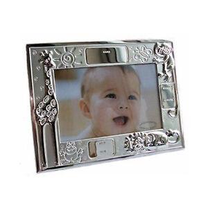 Personalised Baby Birth Record Data Photo Frame 4 X 6 Ebay