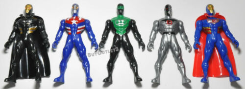 Ninja épée chiffres Mix Lot Set Super Hero de luchadores UNBRANDED Action Fig D.I.Y