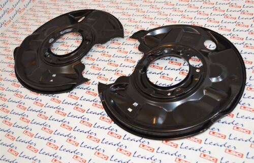 2 x Mercedes Benz C Class CLC CLK SLK Rear Brake Disc Shields 2034230320 New