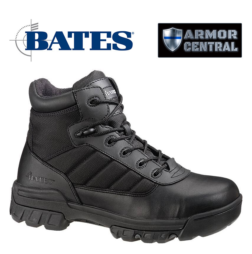 NEW Bates Women's Black Leather 5  Tactical Sport Boots - Police - SWAT - E02762