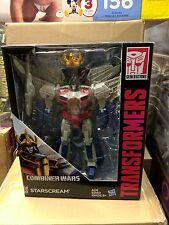 Transformers Generations leader Class Starscream MISB