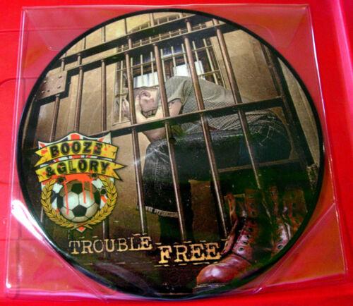 Booze & Glory Trouble Free LP Ltd PICTURE DISC RI 2015 NEW Punk/Oi VINYL