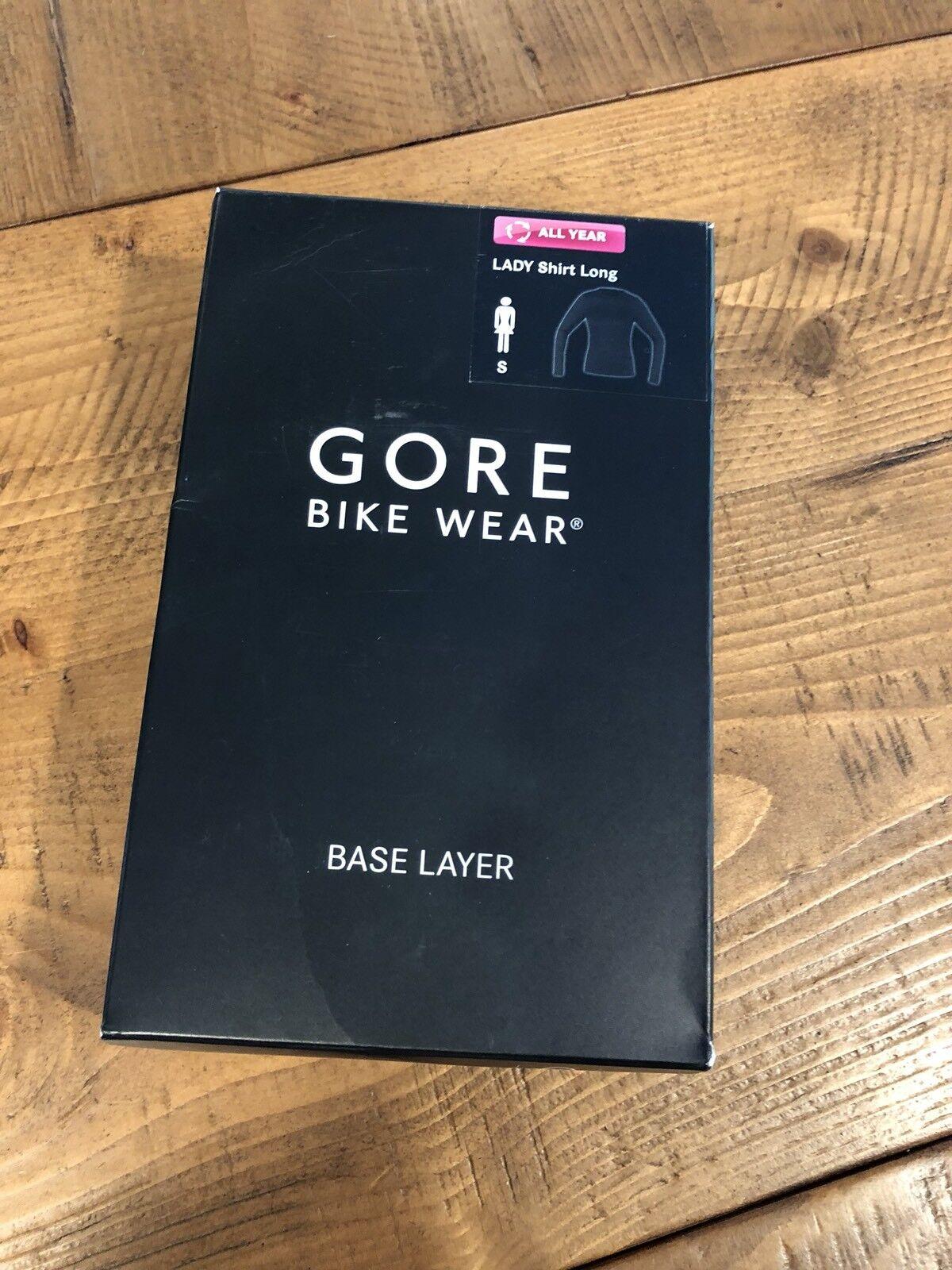 NEW Gore Bike Wear Womens Warm Weather Lightweight Base Layer Small