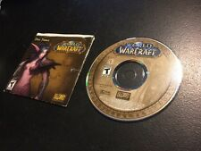 **Replacement** World Of WarCraft (Windows/Mac) Create a Character *Disc 3 Only*