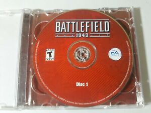 Battlefield 1942 2 Disc PC Game Very Good Condition Discs Only
