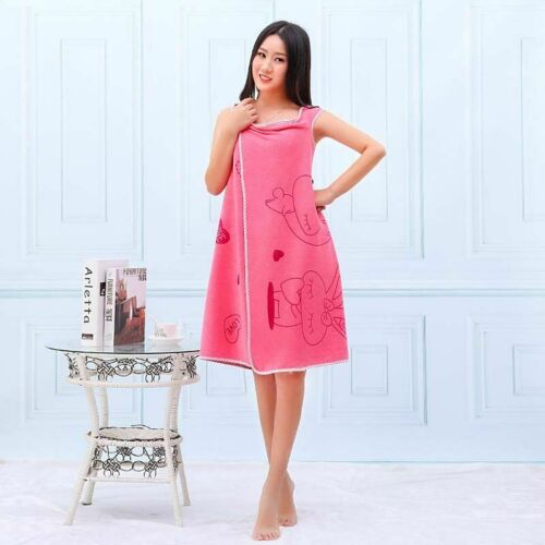 New Bath Towel Fashion Lady Wearable Fast Drying Magic  Beach Spa Bathrobes