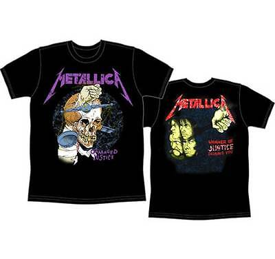 METALLICA Harvester Of Sorrow Damaged Justice T-Shirt New Authentic S M L XL XXL