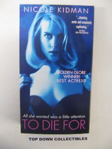 Details about To Die For, Nicole Kidman, Joaquin Phoenix, Matt Dillon VHS  Movie