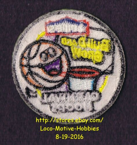 LMH PATCH Badge 2012 CARNIVAL HOOPS Build Grow LOWES Kids Clinic BASKETBALL Ring